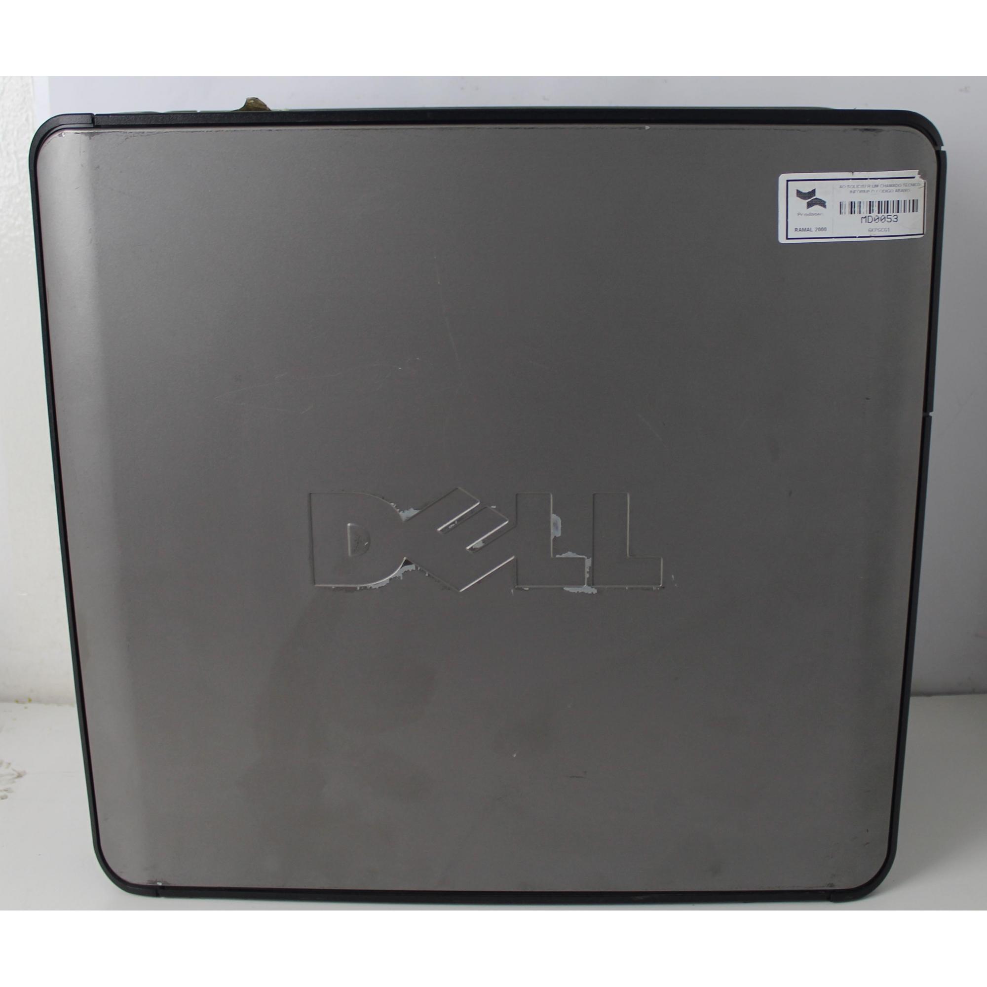 CPU Dell Optiplex 755 Core 2 Duo 1.8Ghz 4GB HD - 160GB