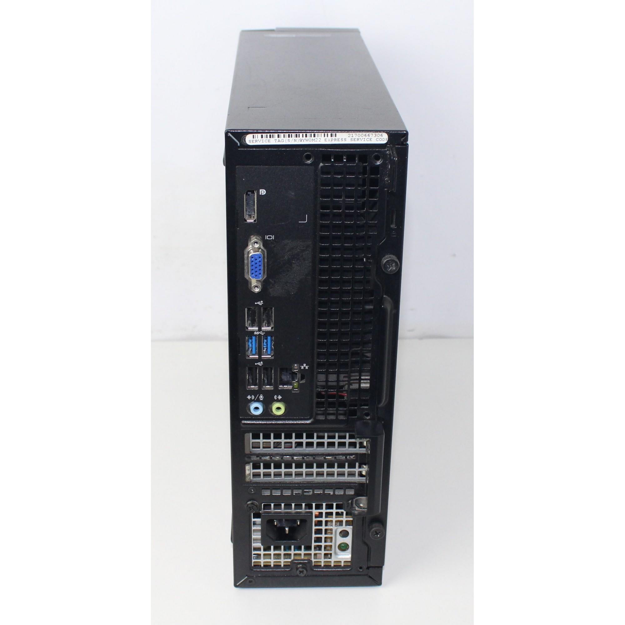 CPU Empresarial Dell Optiplex 3020 Core i5 3.3Ghz 4GB HD-500GB