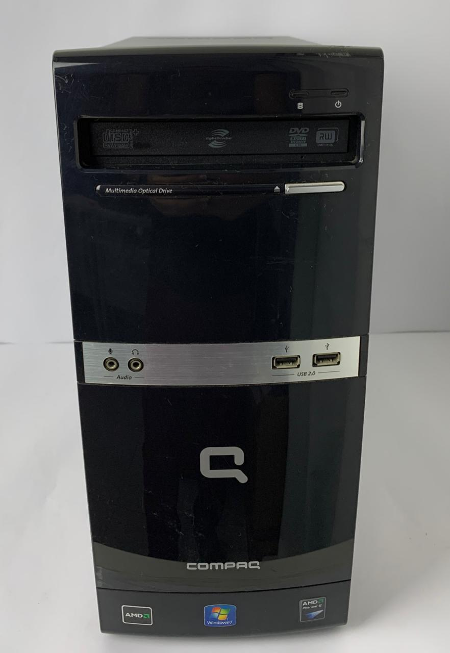 CPU HP Compaq 505B MT Amd Phenom II 3.2Ghz 8GB HD-500GB + 1GB dedicada