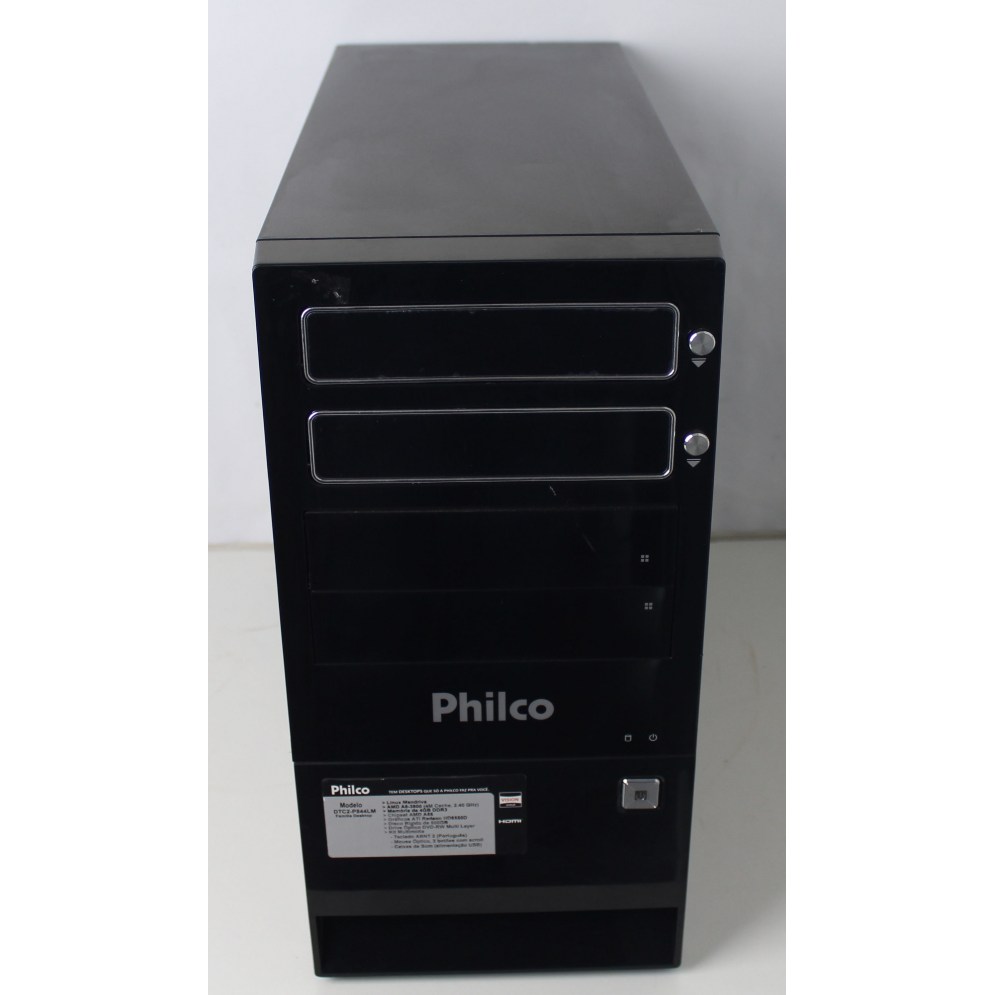 CPU PHILCO P844LM AMD A8 2.4GHZ 4GB HD-500GB