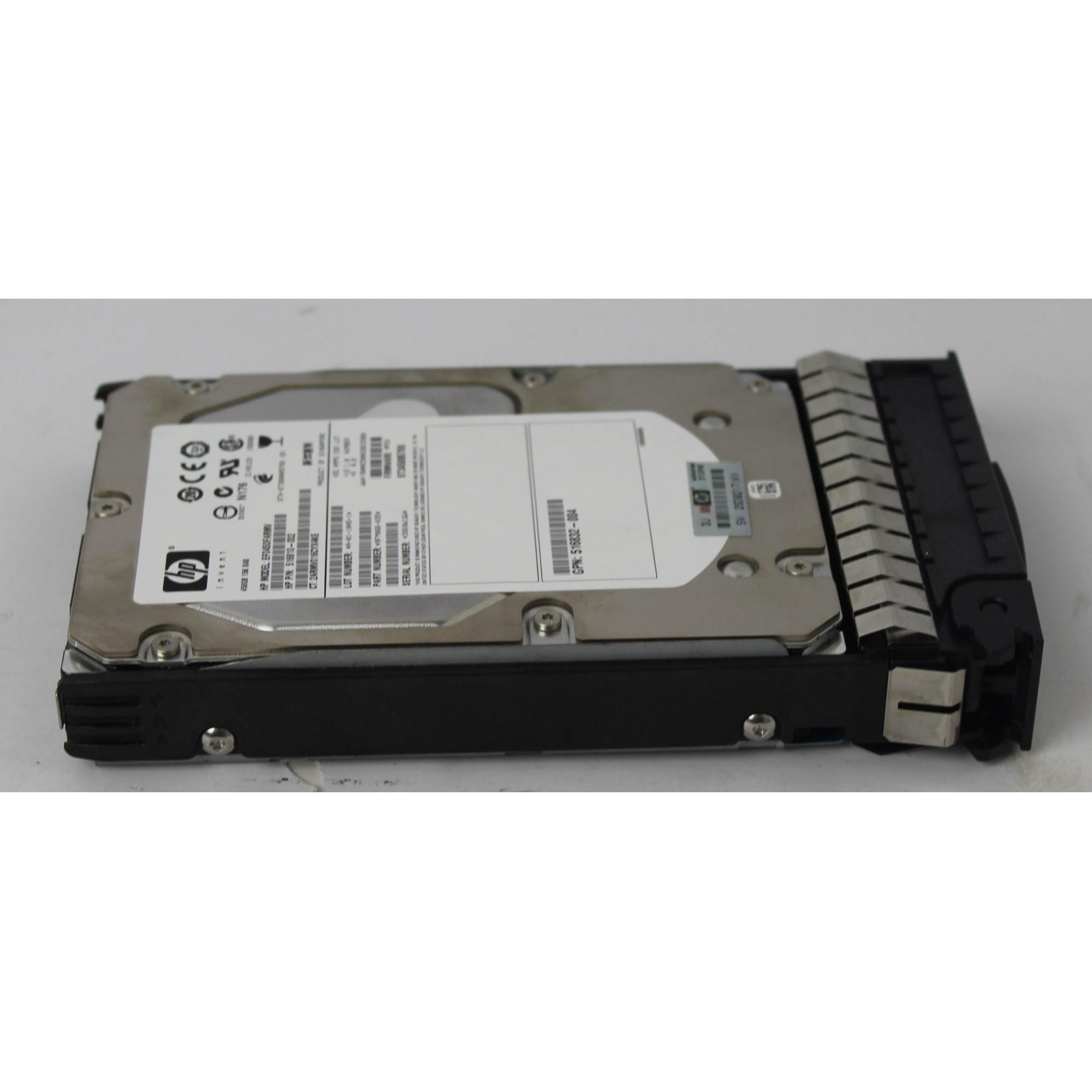 Disco Rígido HP de 450GB SAS 15Krpm
