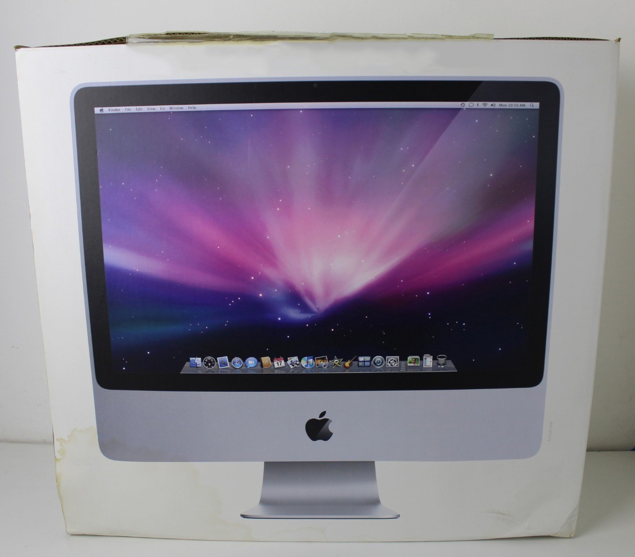iMac 20'' MC015LL/A Intel Core 2 Duo 2Ghz 4GB HD-160GB / Não enviamos