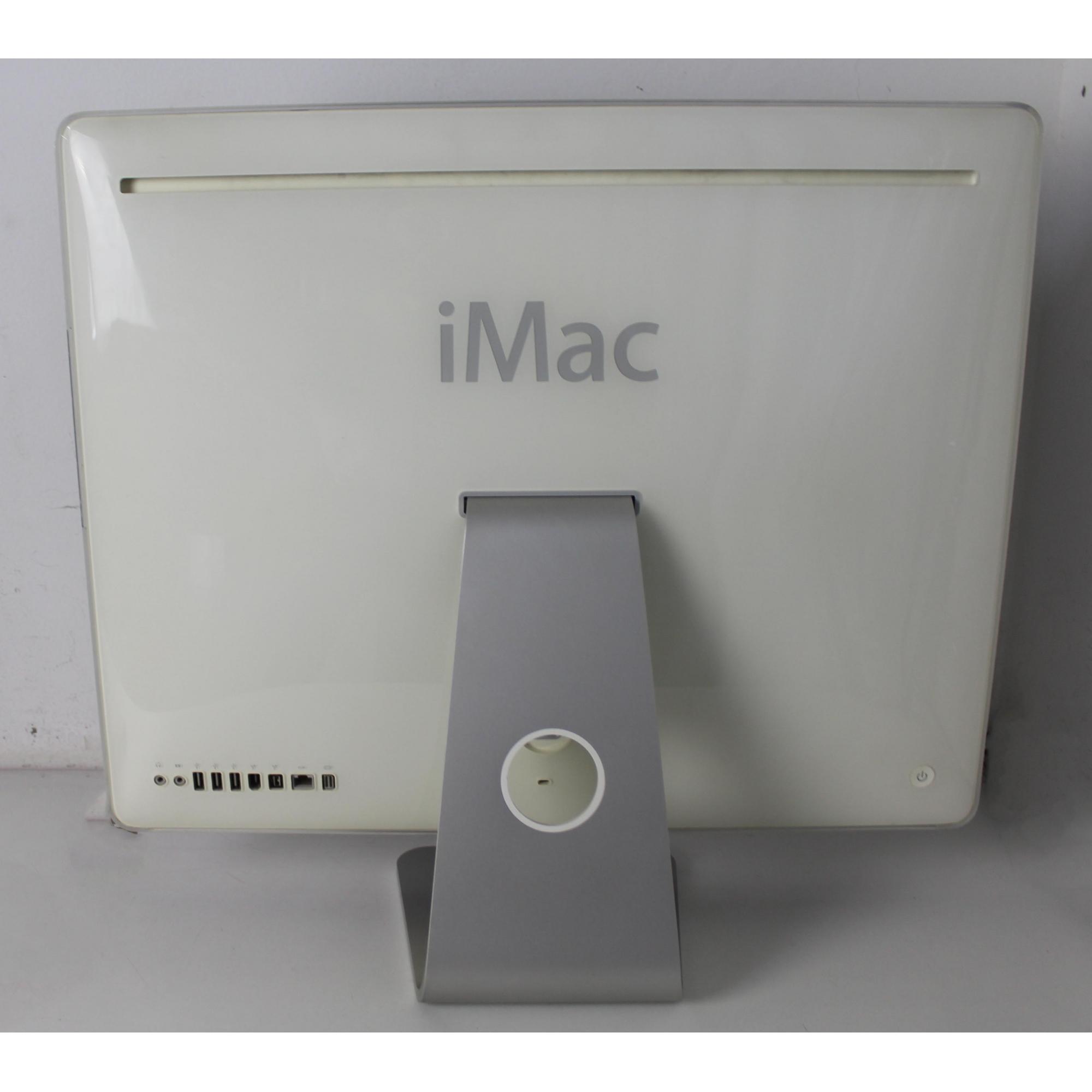 """IMAC MA456LL 21.9"""" INTEL CORE 2 DUO 2.33GHZ 4GB HD-250GB (NÃO ENVIAMOS)"""