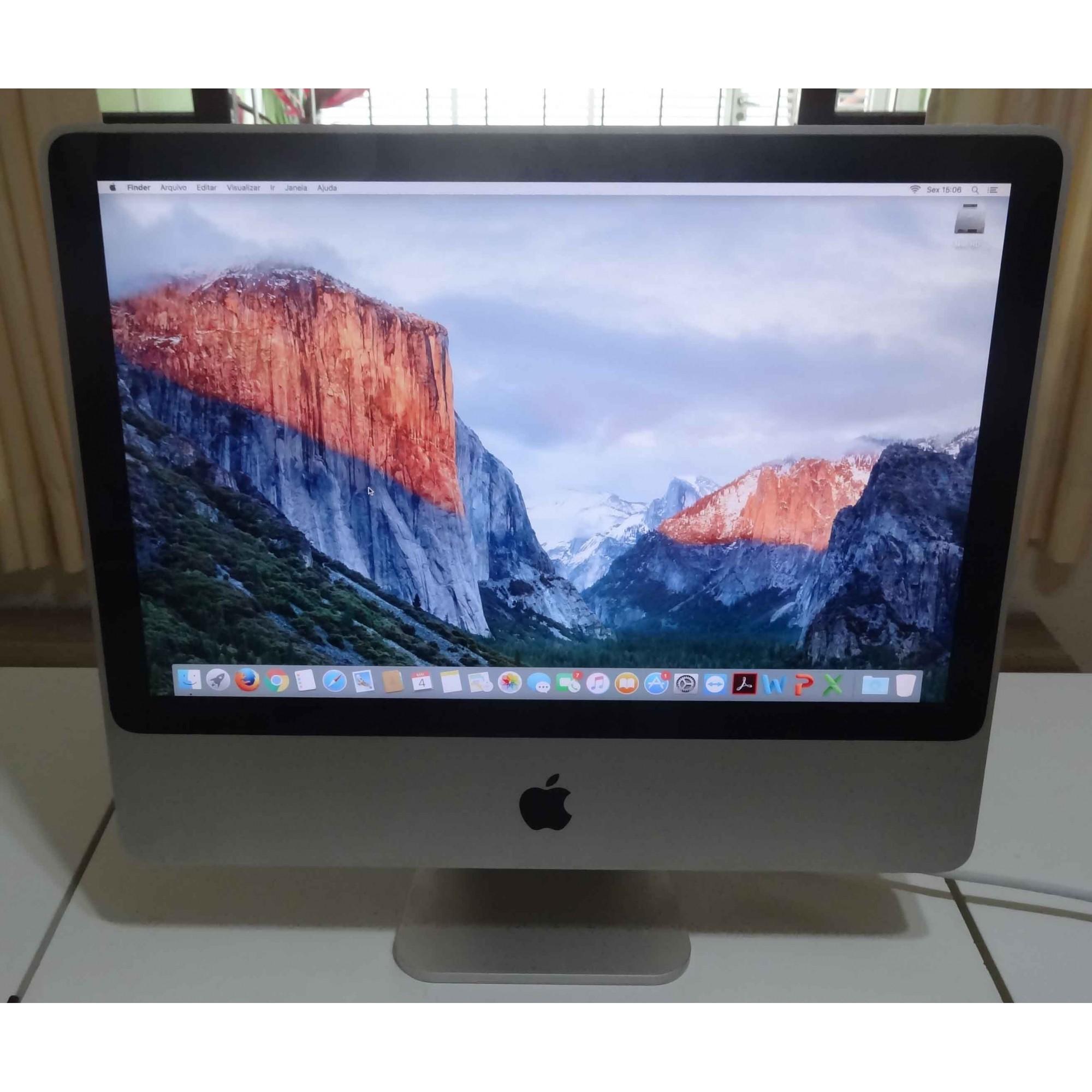 iMac MB324LL/A 20'' Core 2 Duo 2.6GHz 4GB HD-320GB  (NÃO ENVIAMOS)