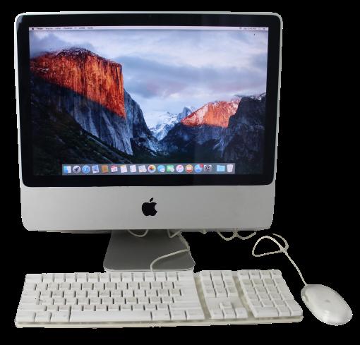 "iMac MB417LL/A 20"" Intel Core 2 Duo 2.66GHz 4GB HD-320GB - Não enviamos"