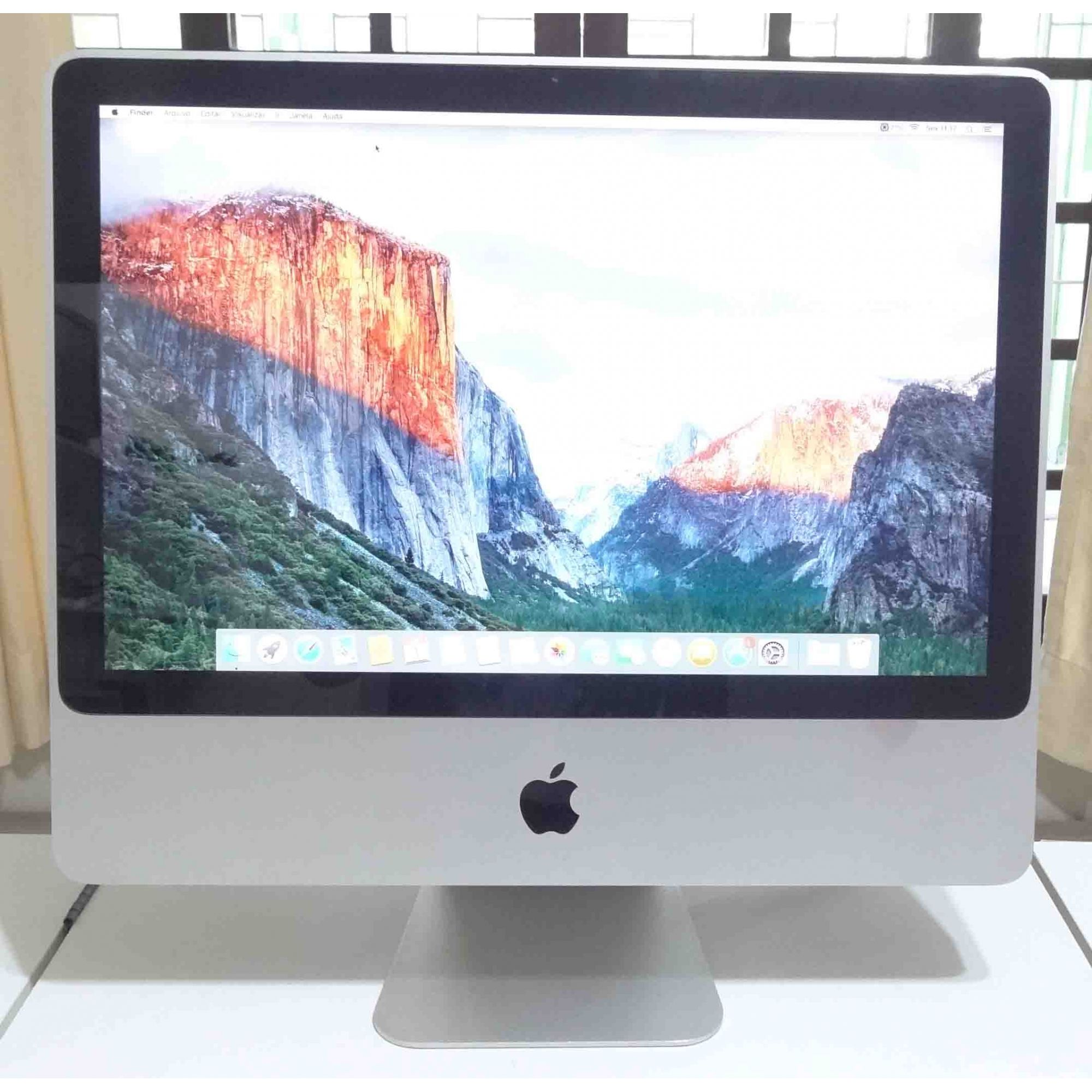 iMac MB417LL/A 20'' Core 2 Duo 2.66GHz 4GB HD-320GB (Não enviamos!)