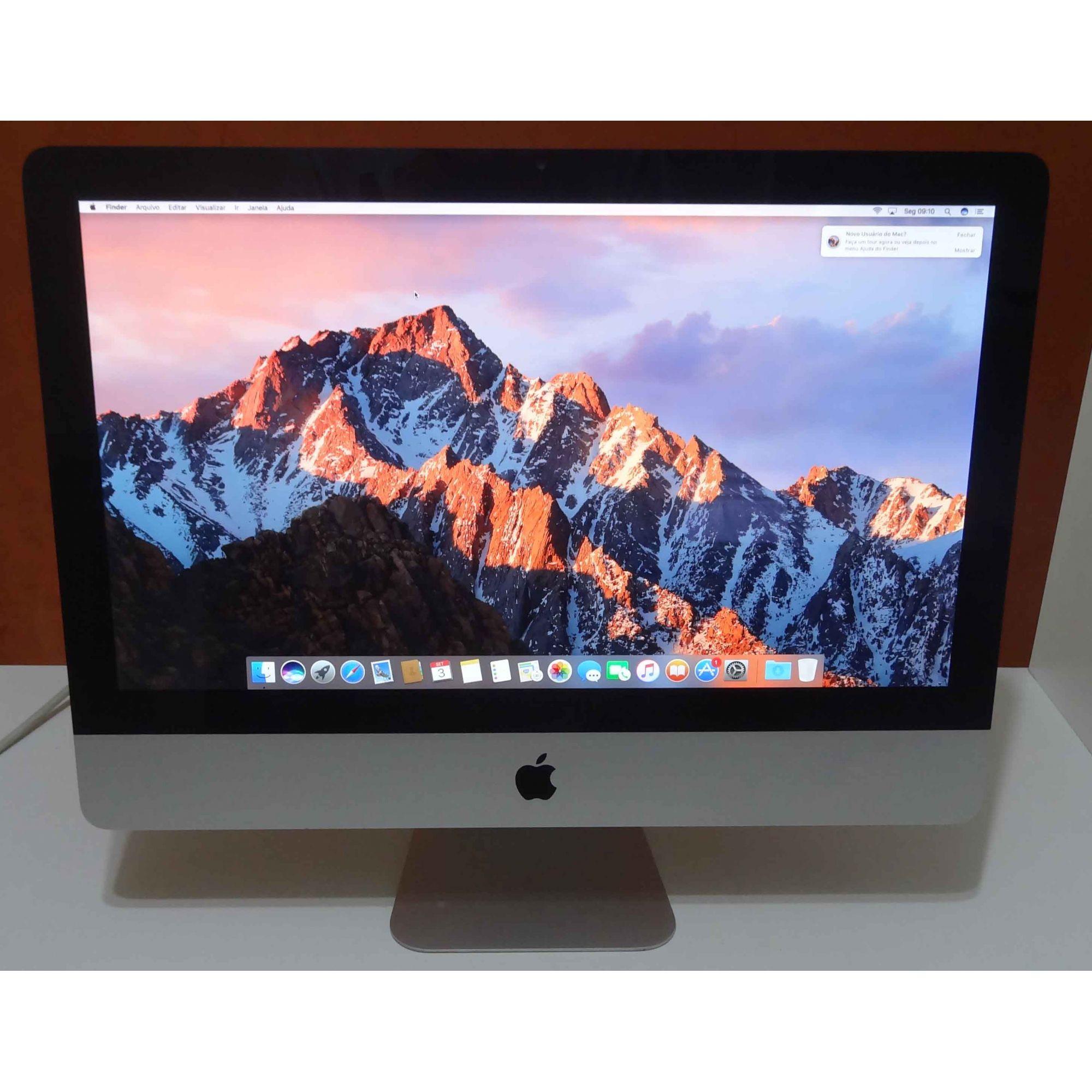 iMac MC309LL/A Intel Core i5 2.5GHz 4GB HD-500GB (NÃO ENVIAMOS)