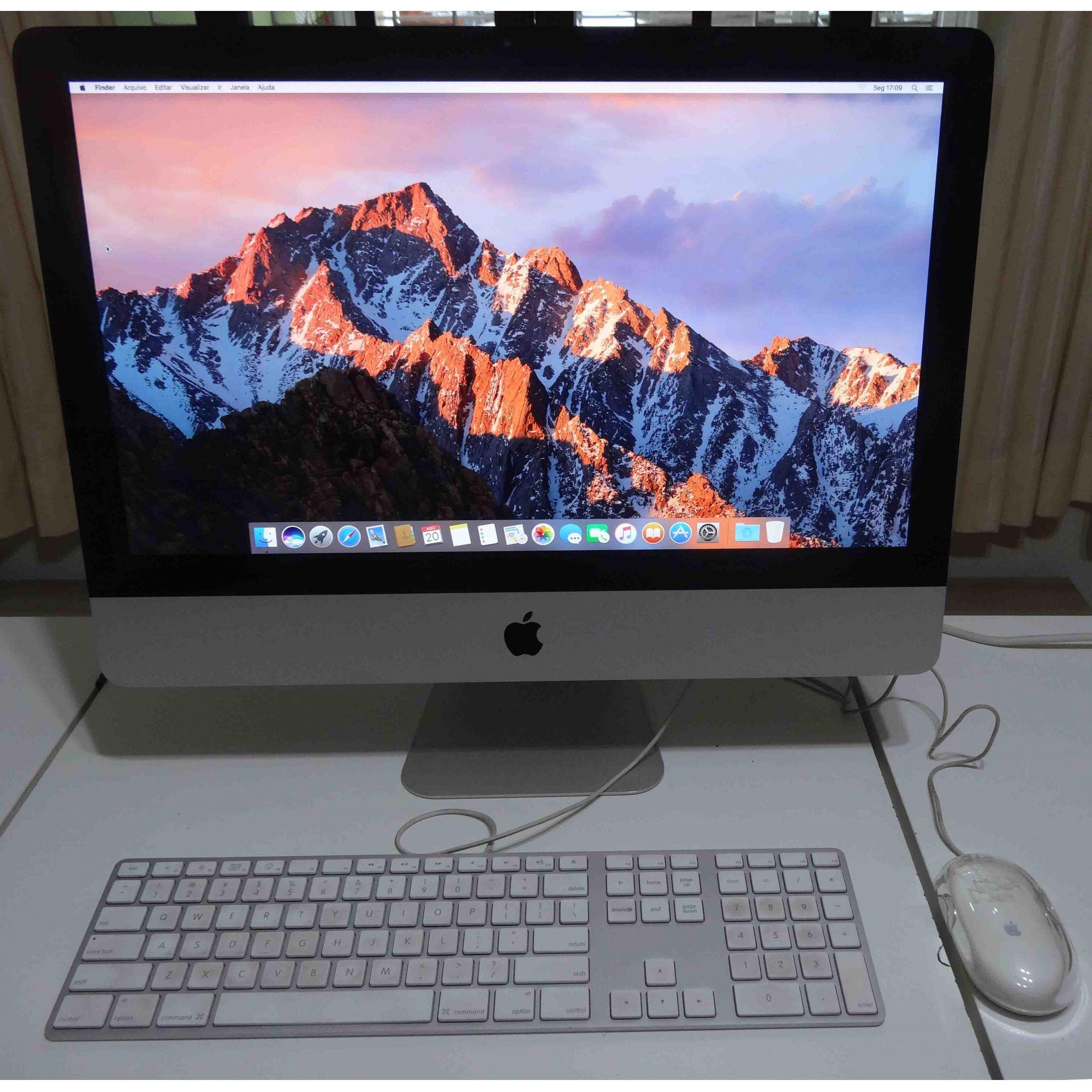 iMac MC508LL/A 21,5'' Intel Core i3 3.06GHz 8GB HD-500GB