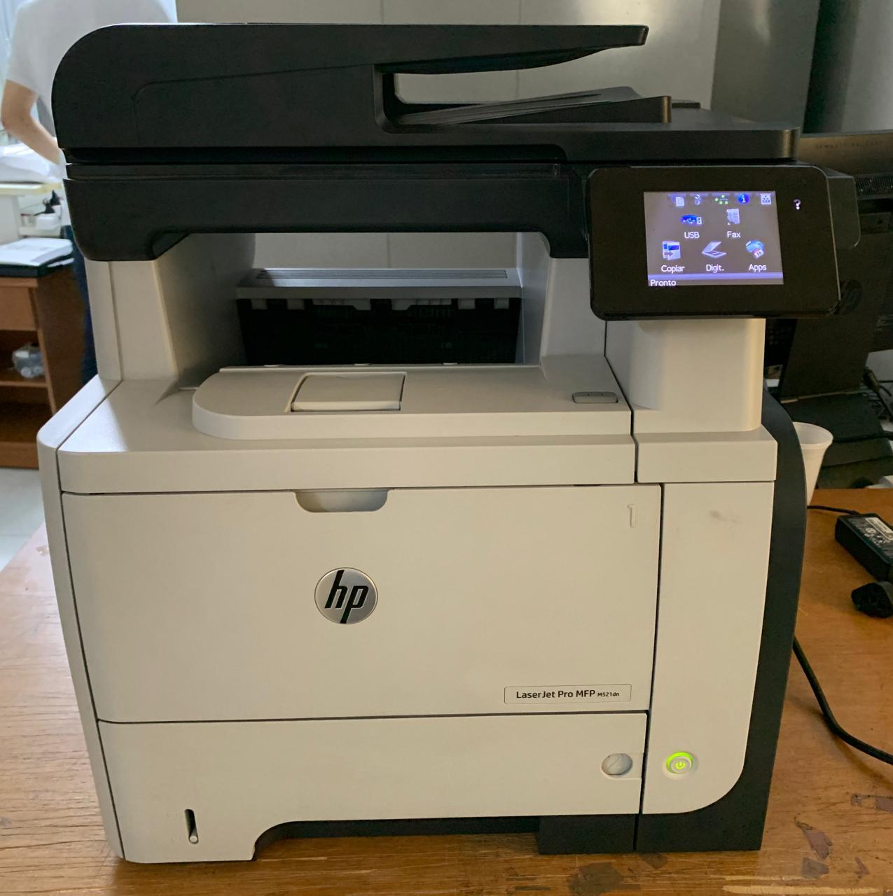 Impressora HP LaserJet Pro MFP M521dn - Multifuncional Laser Monocromática - Não enviamos