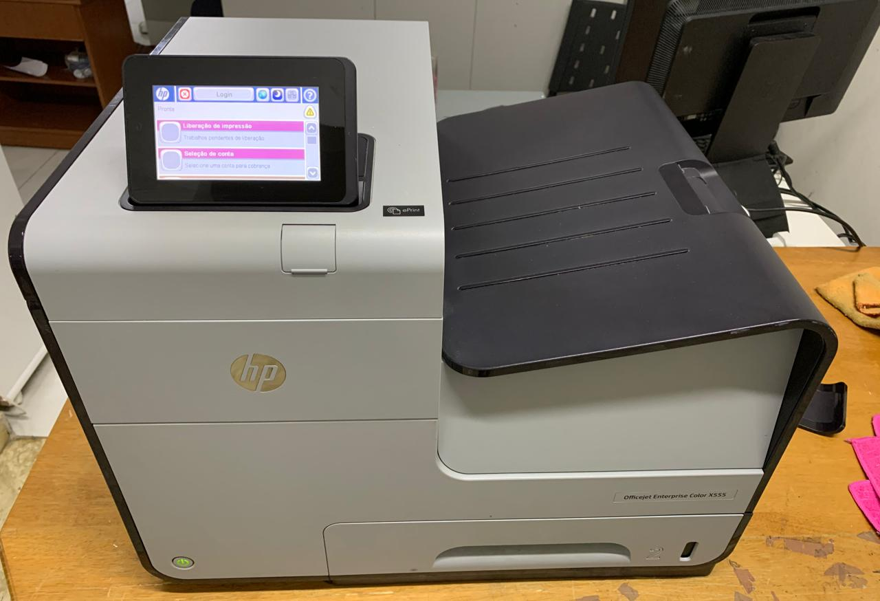 Impressora HP OfficeJet Enterprise Color X555dn -  Não enviamos