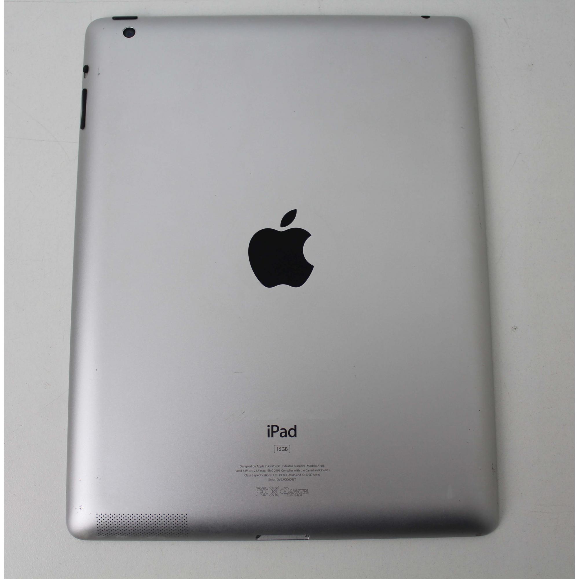 """IPAD 3 MC705BR/A 9.7"""" 16GB WIFI  - PRETO"""