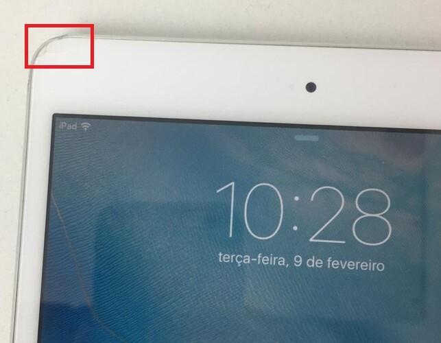 """iPad Mini 1º Geração MD532LL/A 7.9"""" 32GB + Wifi - Branco"""