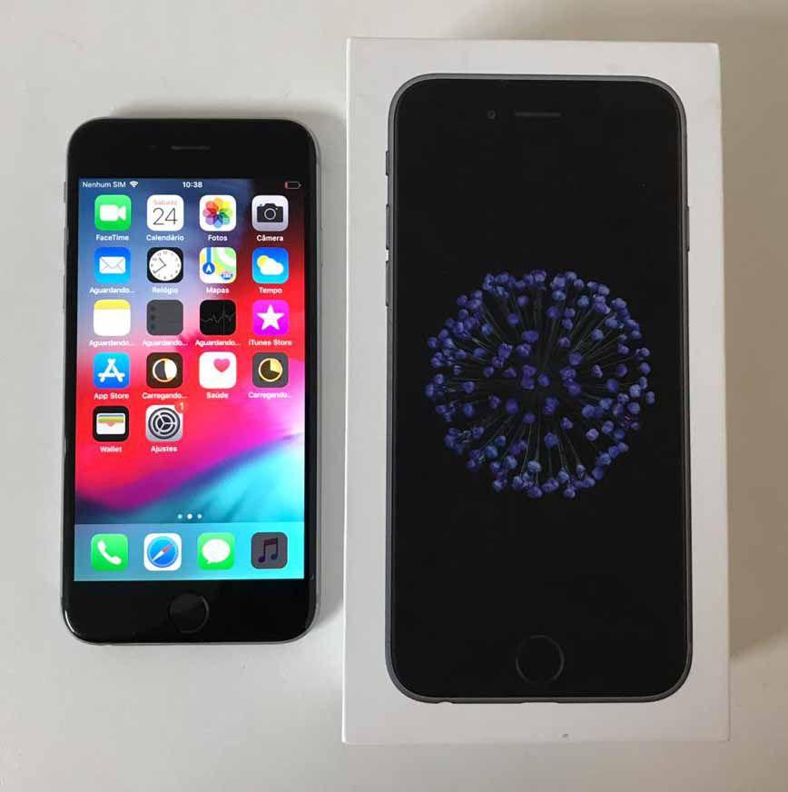Iphone 6 MG3H2BR/A 4.7'' 64GB - Cinza Espacial (Não Enviamos)