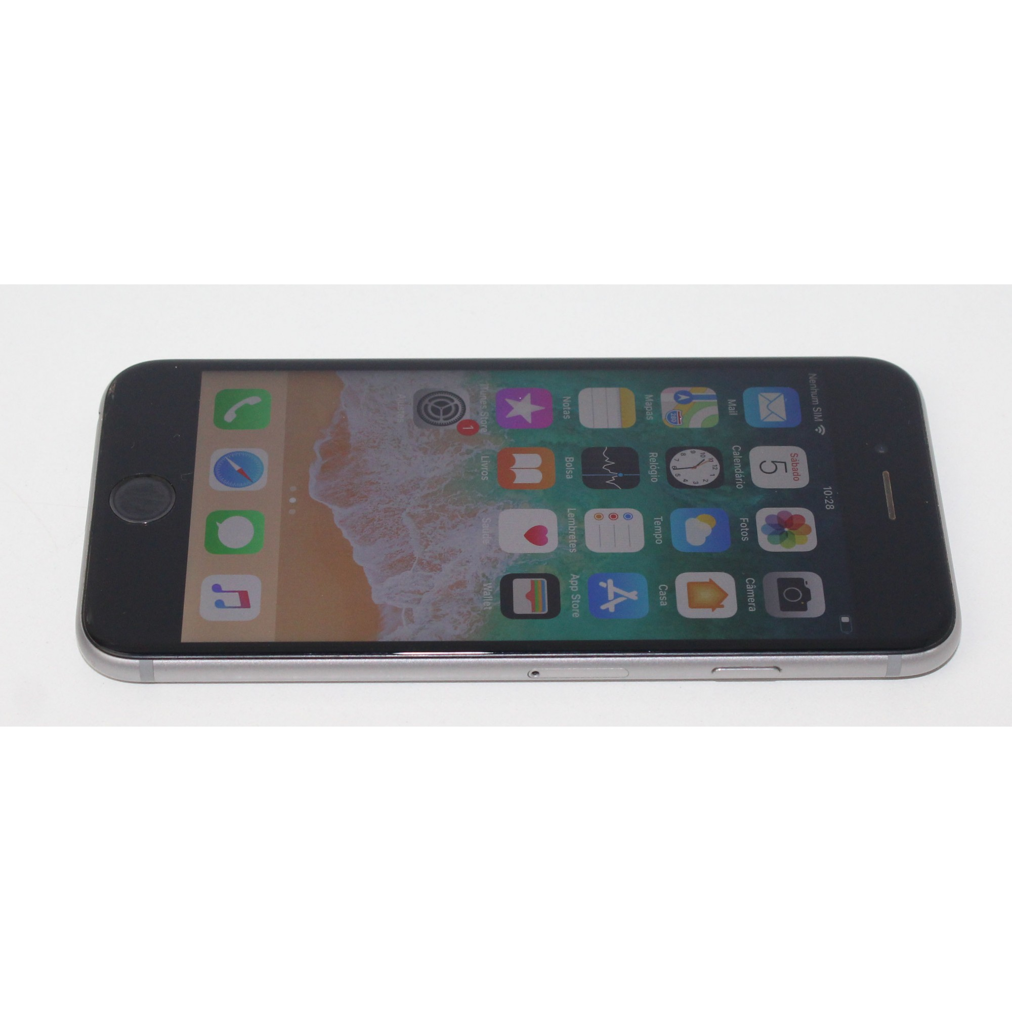 "Iphone 6S 64GB 4,7"" Wifi + 3G/4G - Cinza Espacial"
