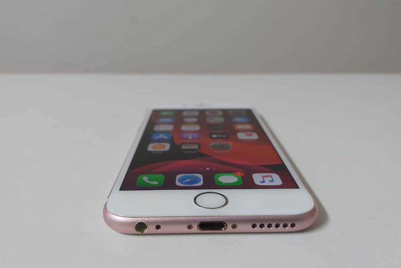 "iPhone 6s MKQR2BZ/A 4.7"" 64GB - Rosa ouro"