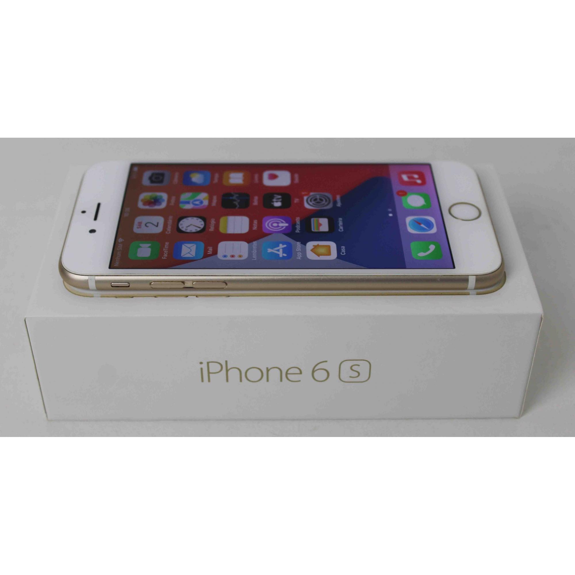 """IPHONE 6S MN112BR/A 4.7"""" 32GB - DOURADO"""