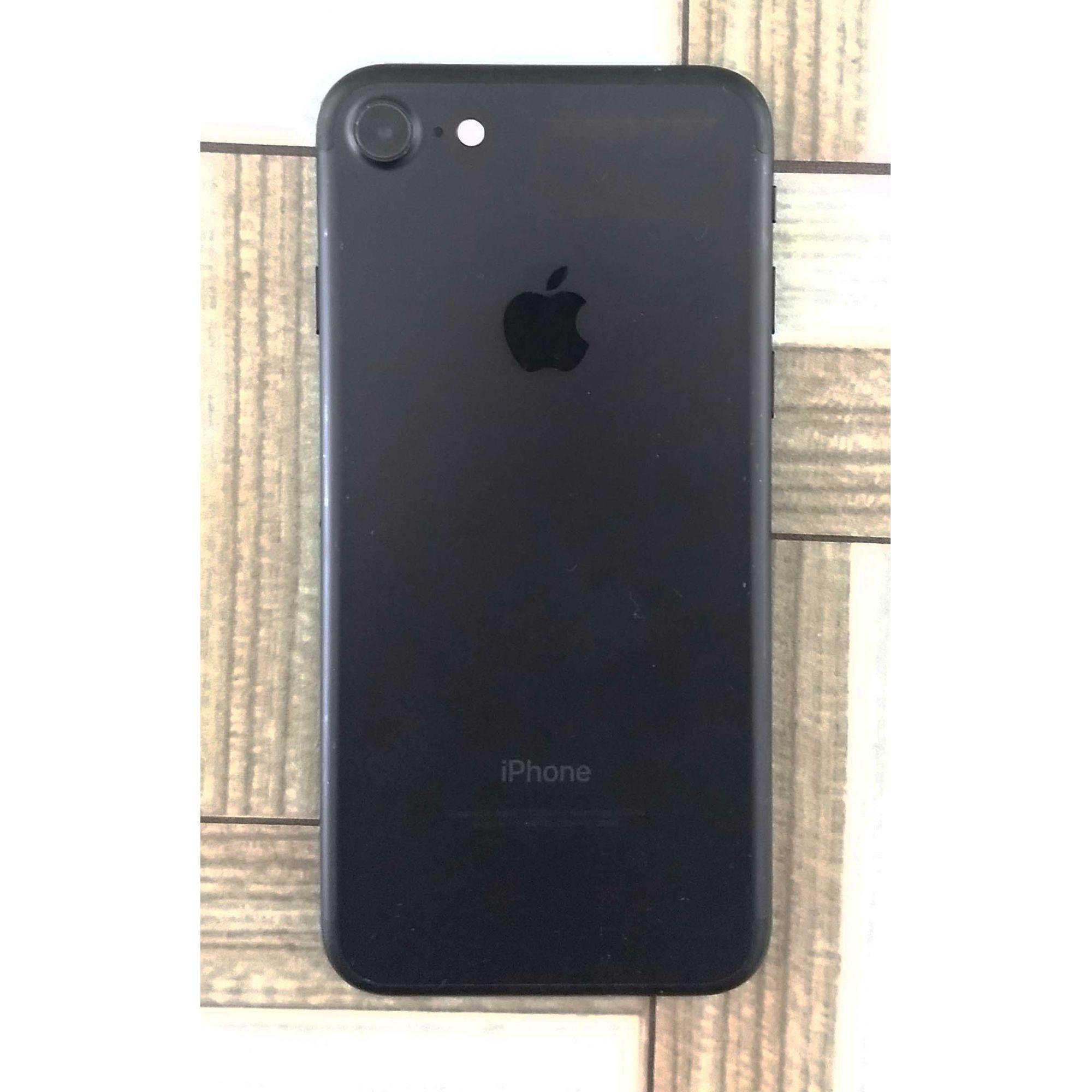 """iPhone 7 32GB MN8X2BZ/A 4.7"""" - Preto Matte"""
