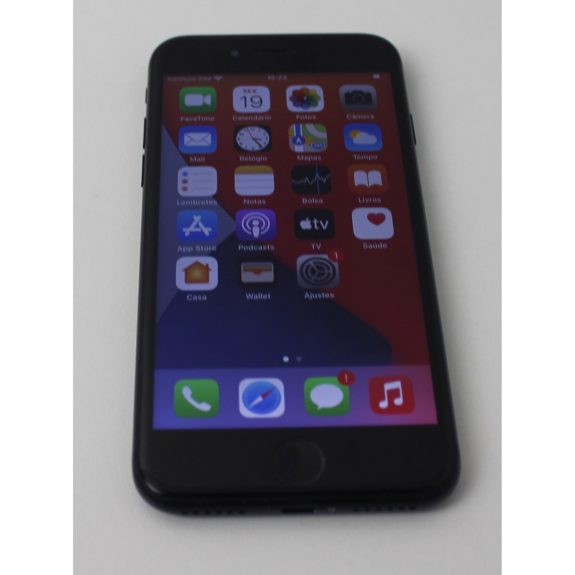 "iPhone 7 MN8X2BR/A 4.7"" 32GB - Preto"