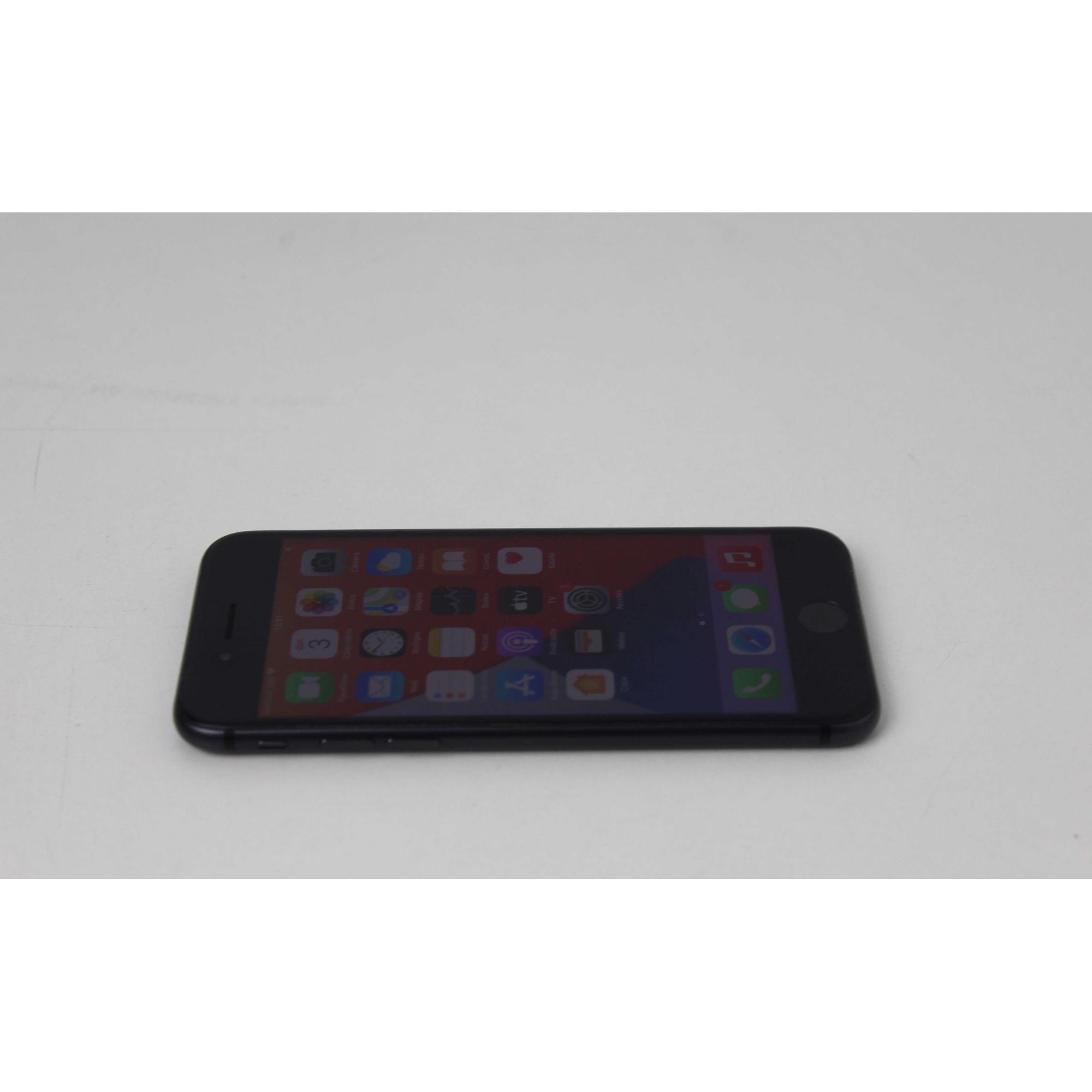 """iPhone 8  MQ6G2BZ/A 4.7"""" 64GB - Cinza espacial (Não enviamos)"""