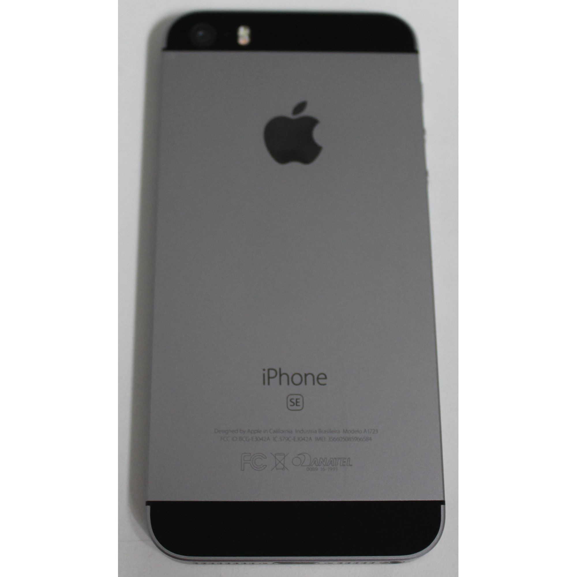 "iPhone SE MP822BR/A 4""  32GB- Cinza espacial"
