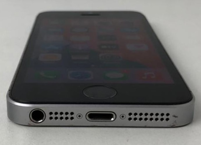 """IPHONE SE MP862BR/A 4"""" 128GB- CINZA ESPACIAL"""