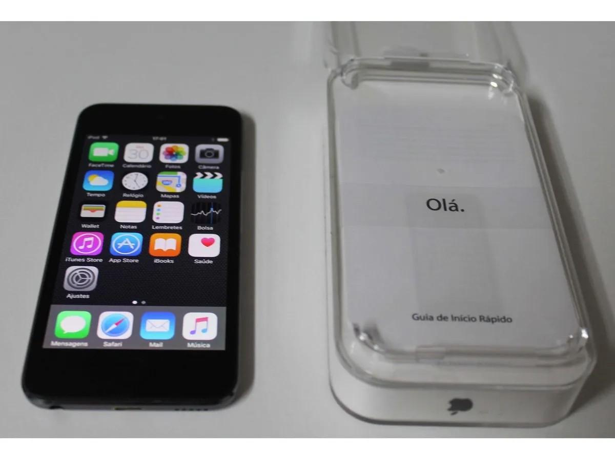 IPod Touch MGG82BZ/A 16GB 5º Geração - Cinza