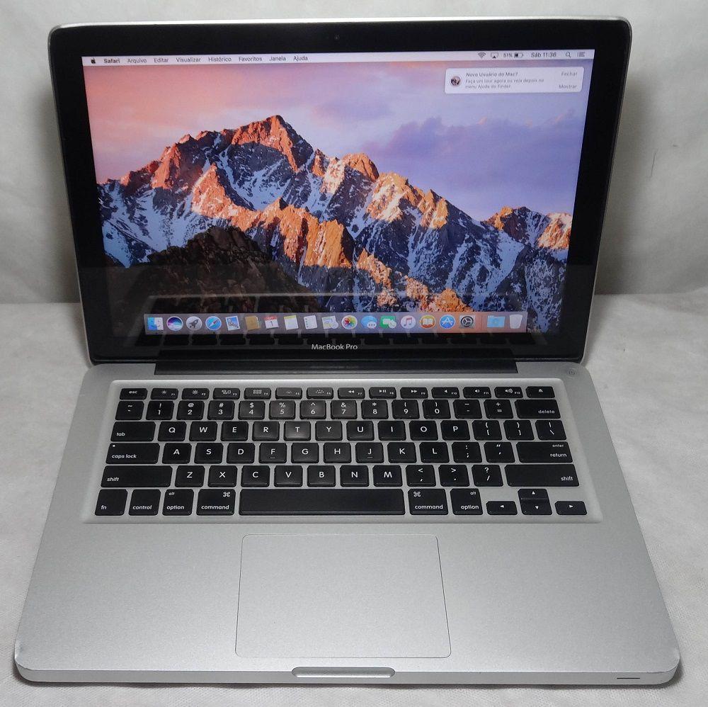 """MacBook Pro MD101LL/A 13.3"""" Intel Core i5 2.5GHz 4GB 500GB HD (Não Enviamos)"""
