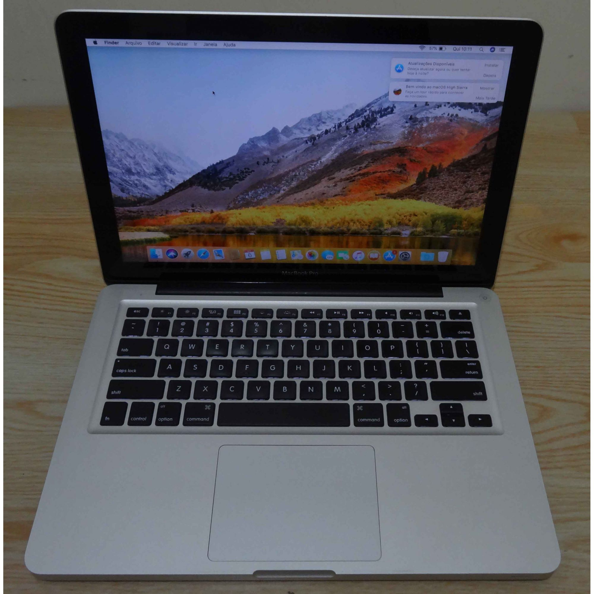 Macbook Pro MD313LL/A Intel Core i5 2.4GHz 4GB HD-500GB (Não Enviamos)