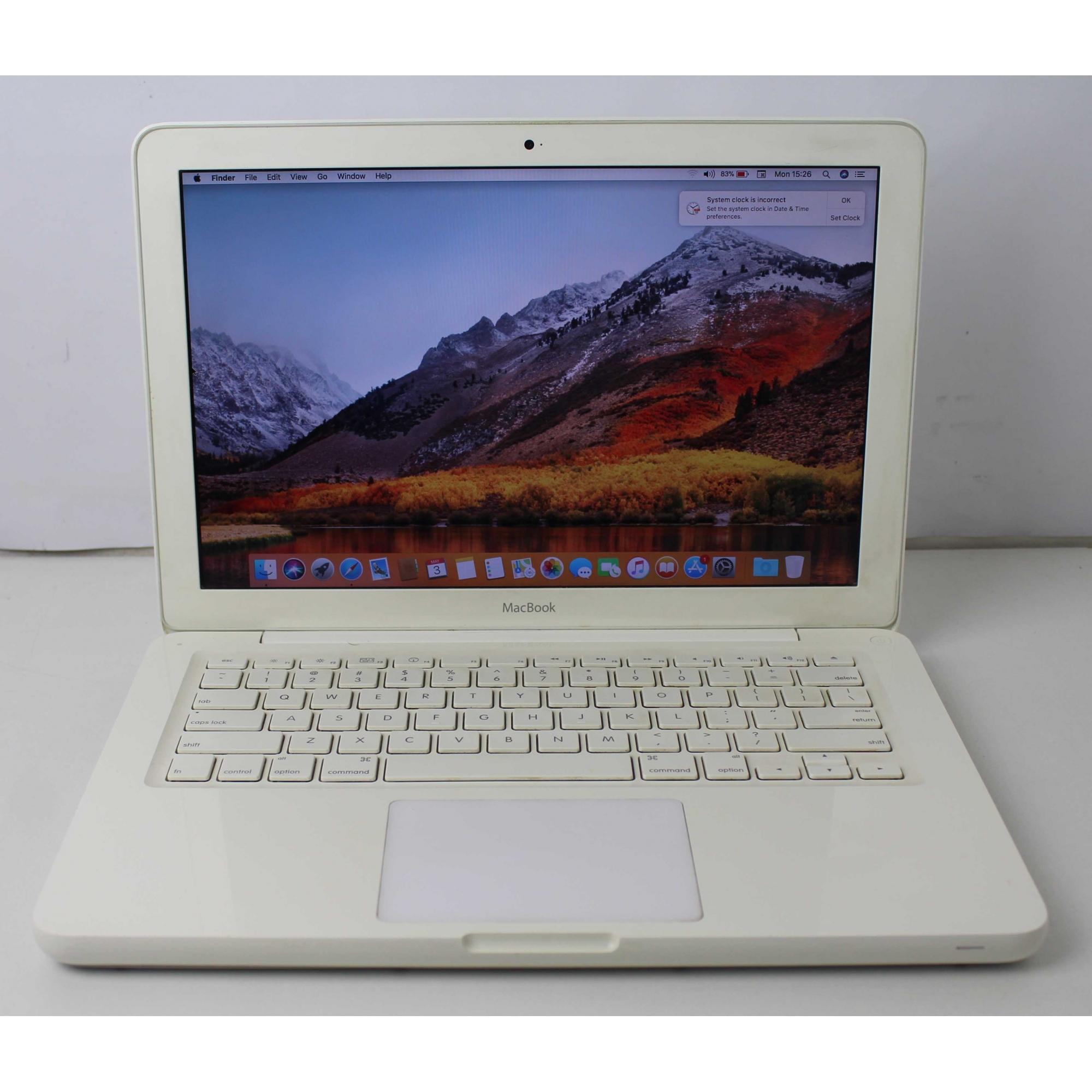 "Macbook White MC516LL/A 13.3"" Intel Core 2 Duo 2.4GHz 4GB HD-250GB"