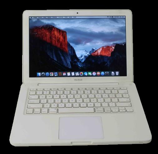 "Macbook White MC207LL/A 13.3"" Intel Core 2 Duo 2.26GHz 4GB HD-320GB"