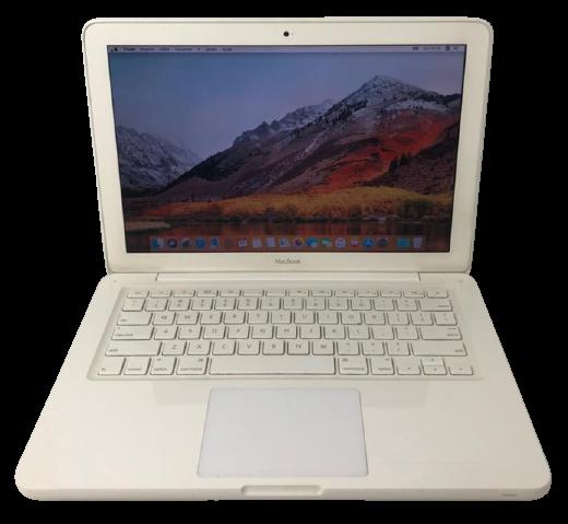 "MACBOOK WHITE MC516LL/A 13.3"" INTEL CORE 2 DUO 2.4GHZ 2GB HD-250GB - Não enviamos"