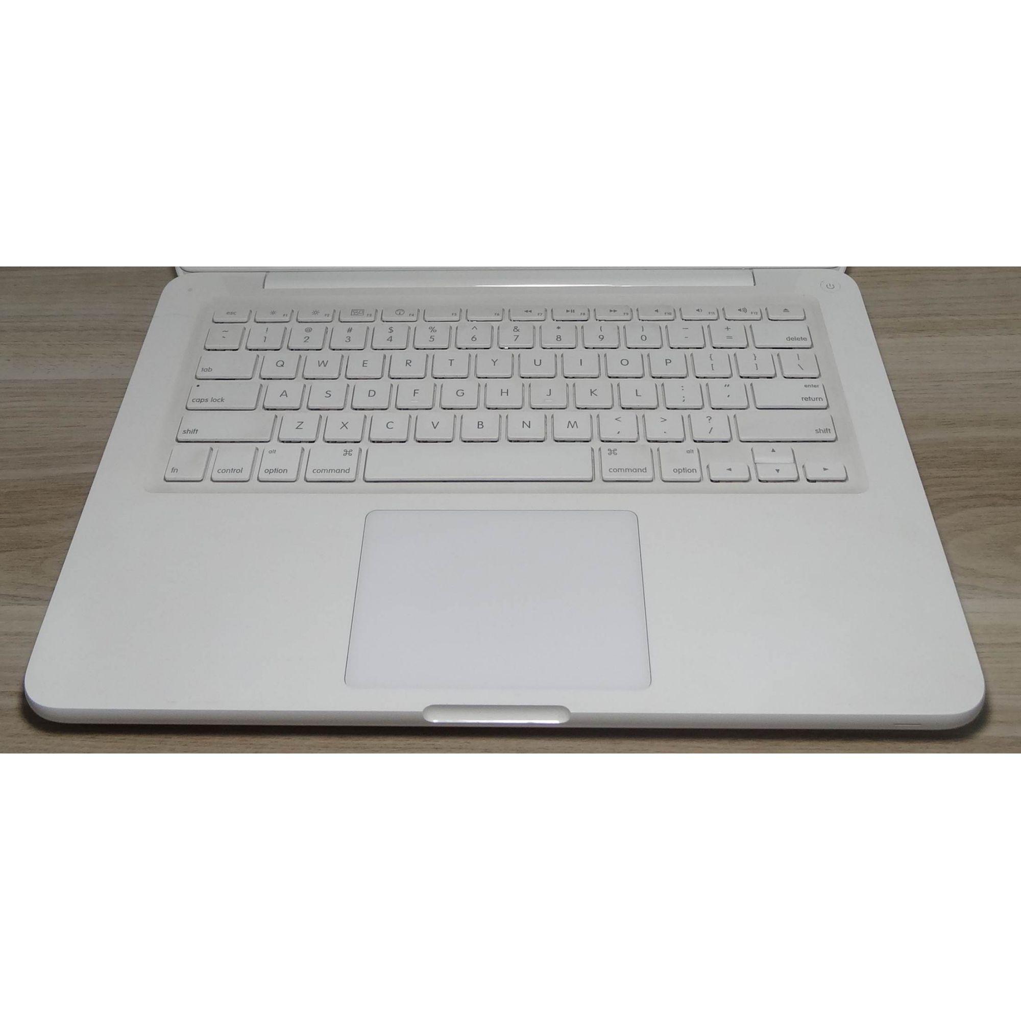 "MacBook White MC516LL/A 13.3"" Intel Core 2 Duo 2.4GHz 4GB 250GB HD (Não Enviamos)"