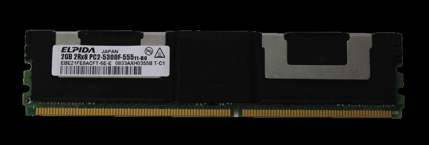 MEMORIA DE SERVIDOR ELPIDIA 2GB 2RX8 PC2-5300