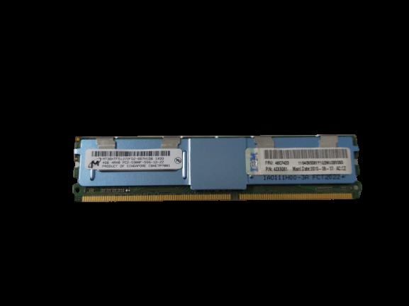 Memória Micron Technology P/ Servidor 4GB 4RX8 PC2-5300F-555-12-ZZ