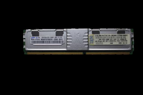 Memoria Samsung 2gb 2rx4 Pc2-5300f-555-11-e0 Para Servidores