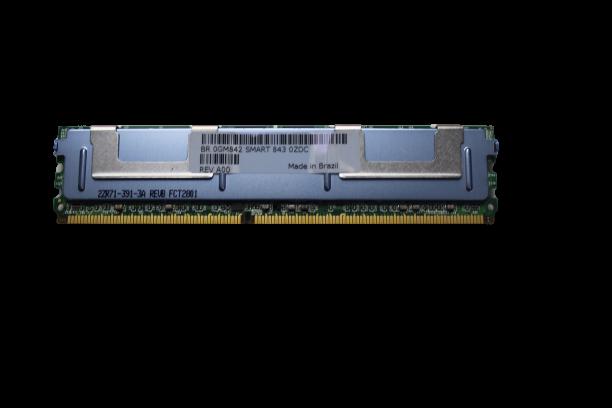 Memoria Smart 2gb 2rx4 Pc2-5300f-555-11-e0 Para Servidores