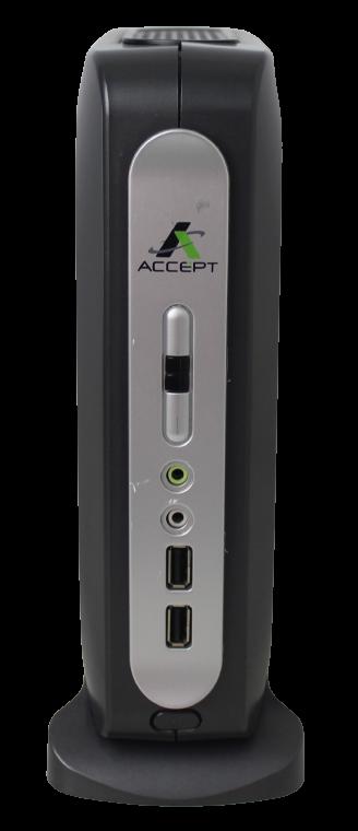 MINI PC ACCEPT P/ PDV DTJ1800ACC DUAL CORE 2.41GHZ 8GB SSD-32GB (SERIAL DB9)