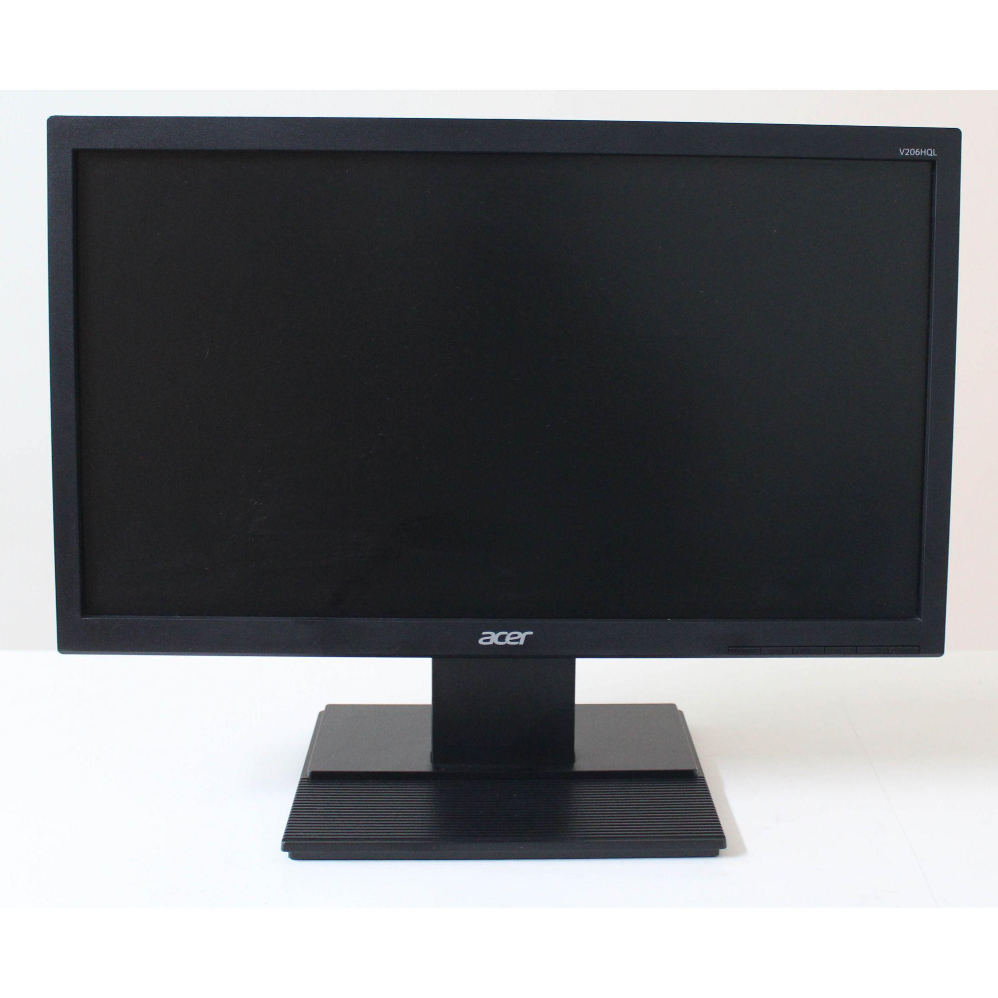 "Monitor Acer LED 19.5"" Widescreen, VGA - V206HQL"
