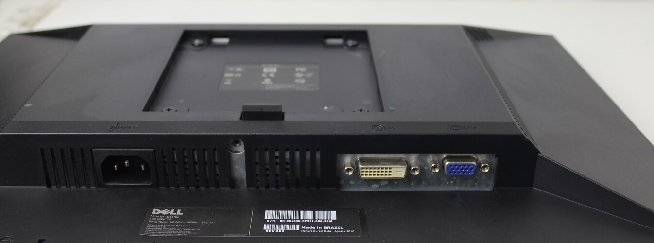 Monitor Dell E1910c 19 Polegadas - Widescreen