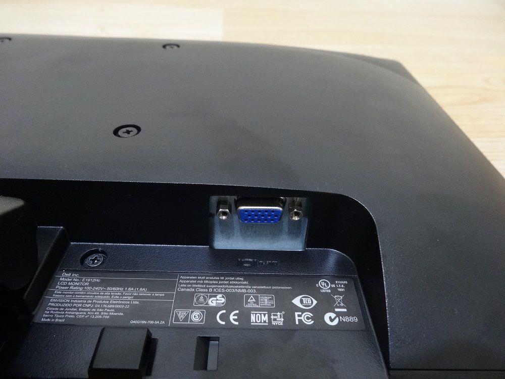 """Monitor Dell E1912Hc 18.5"""" (Não Enviamos)"""