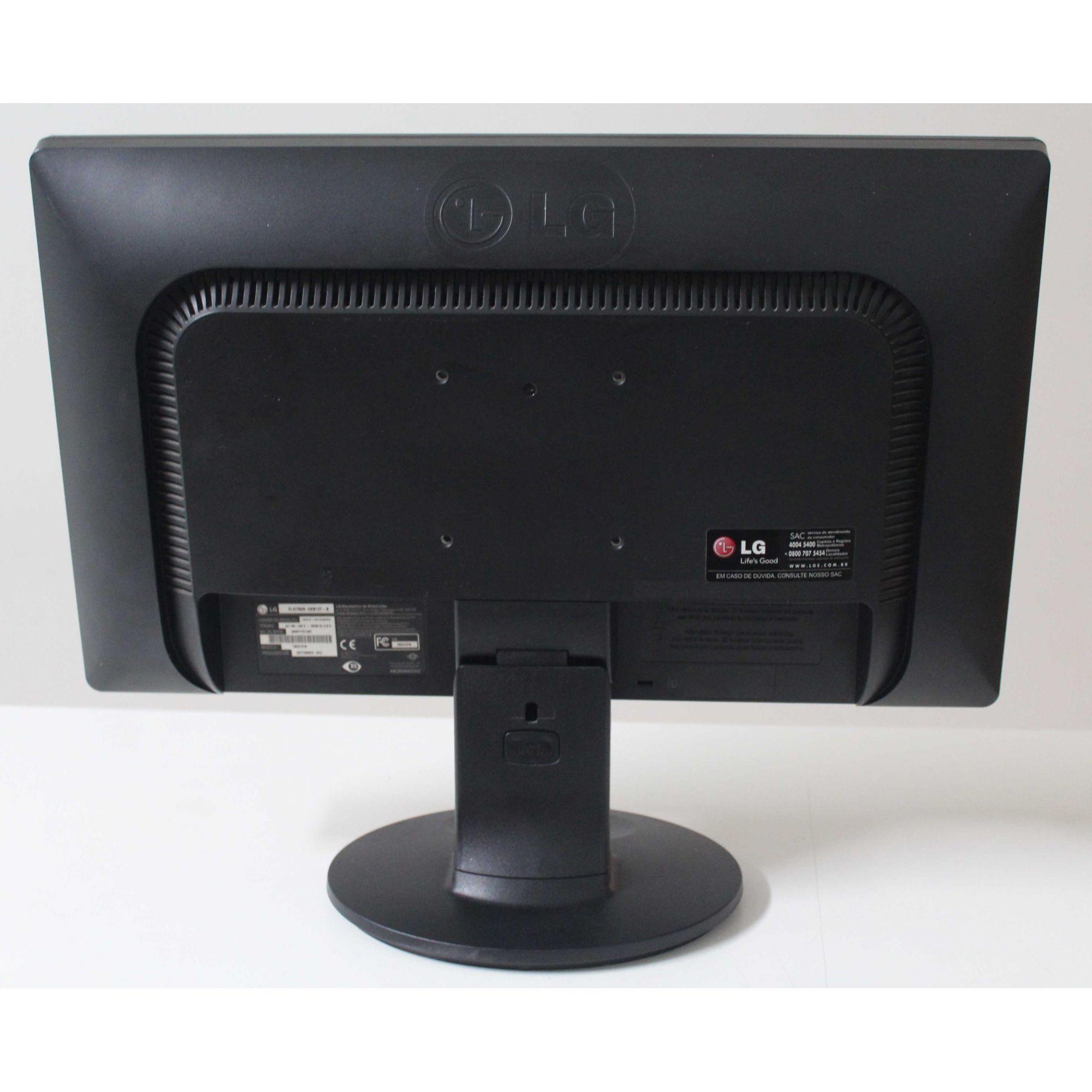 """Monitor LG 19EB13 18.5"""" - Preto"""