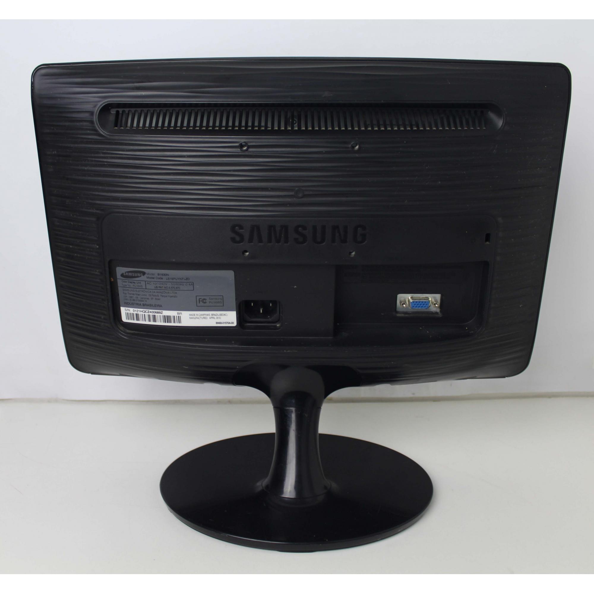 MONITOR SAMSUNG SYNCMASTER B1630 15.6 POLEGADAS - LCD