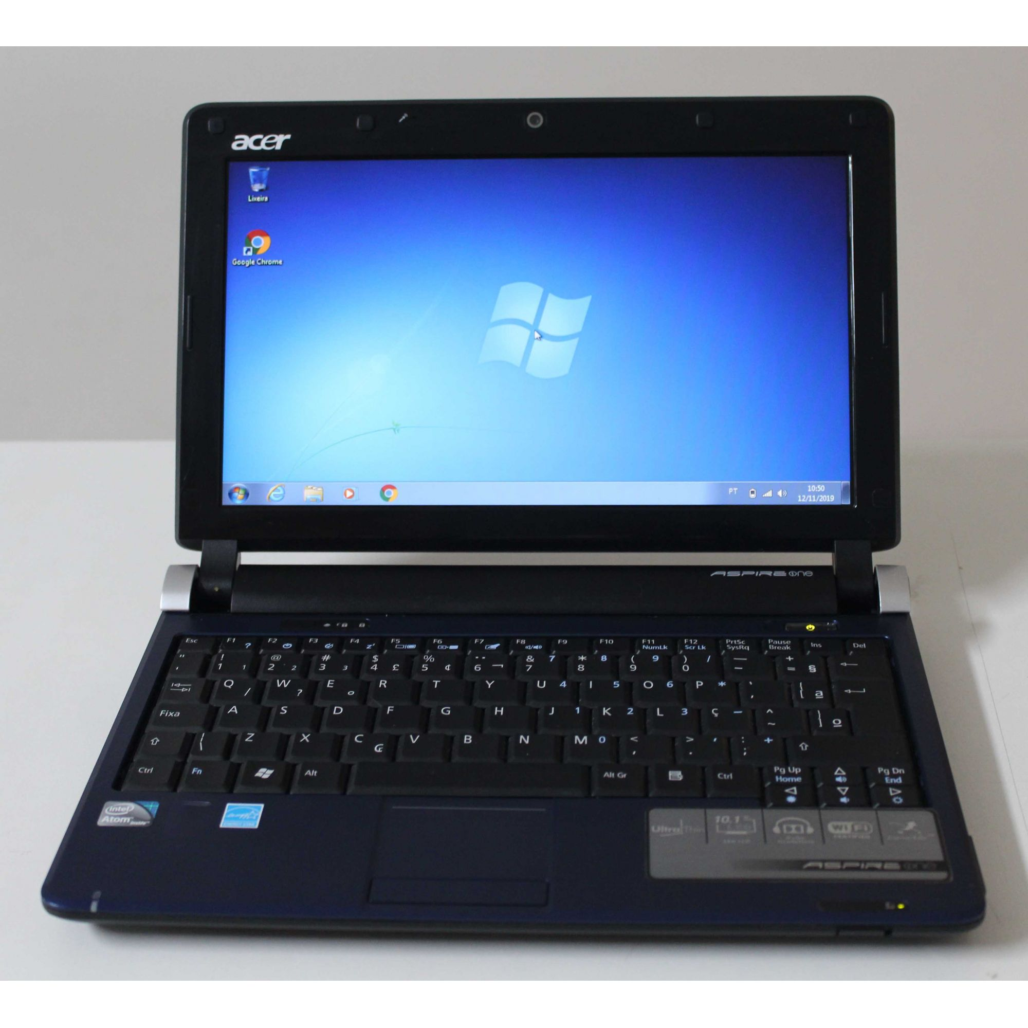 "Netbook Acer Aspire One 10.1"" Intel Atom 1.6GHz 2GB HD-160GB"