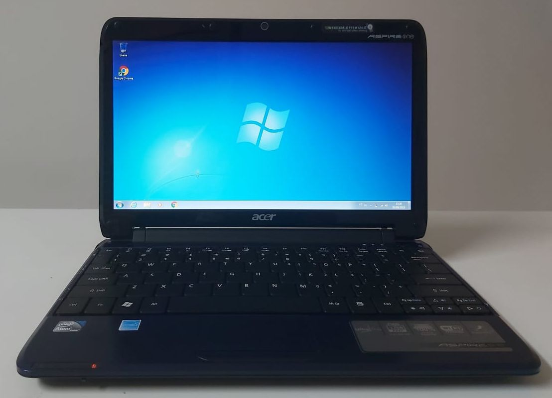 "Netbook Acer Aspire One 11.6"" Intel Atom 1.33GHz 2GB HD-160GB"