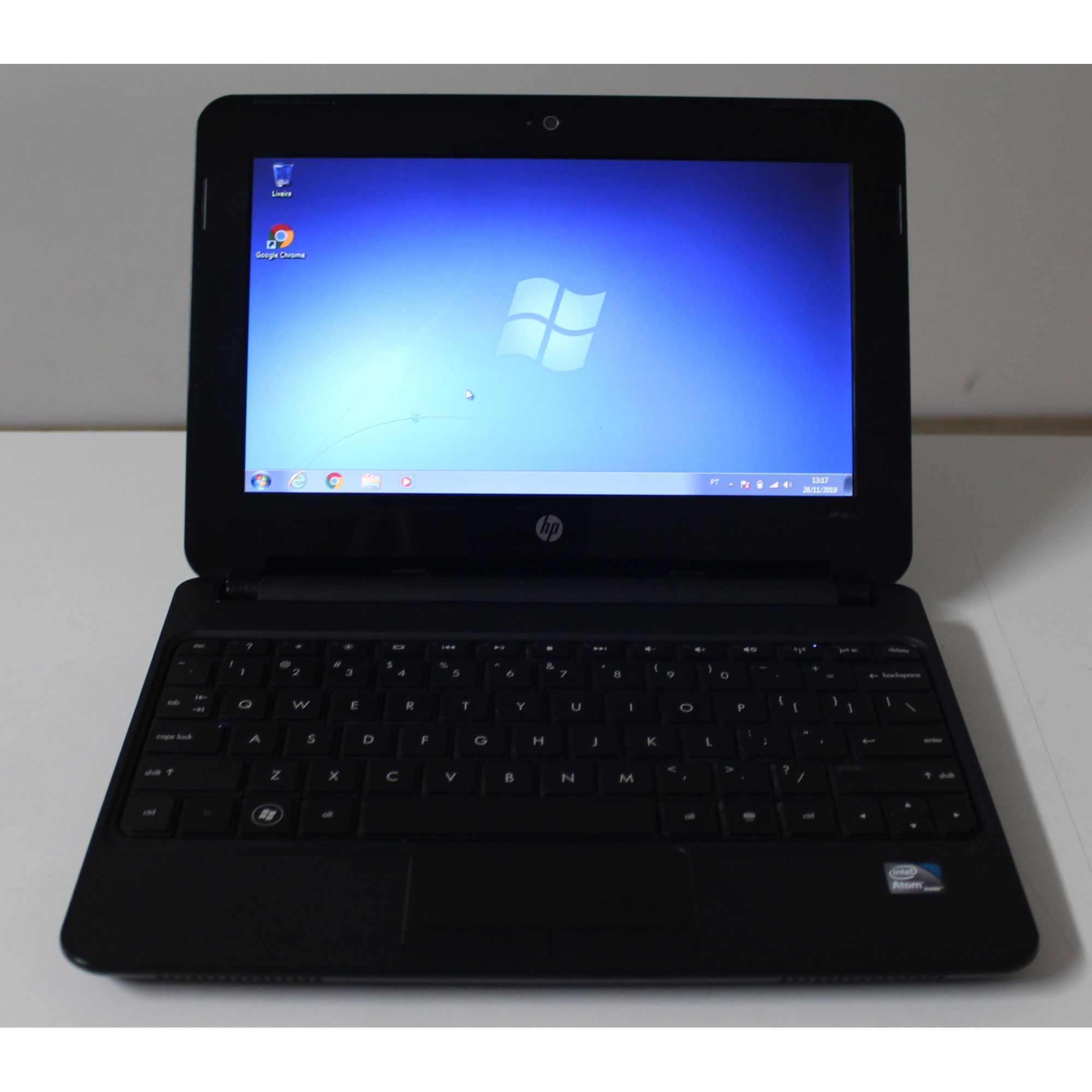 "Netbook HP Mini 110 10.1"" Intel Atom 1.66GHz 2GB HD-250GB"