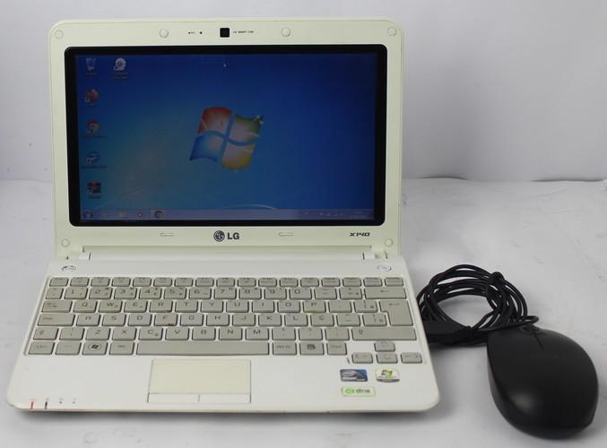 Netbook LG X140-A 10.1'' Intel Atom N470 1.83GHz 2GB HD-320GB