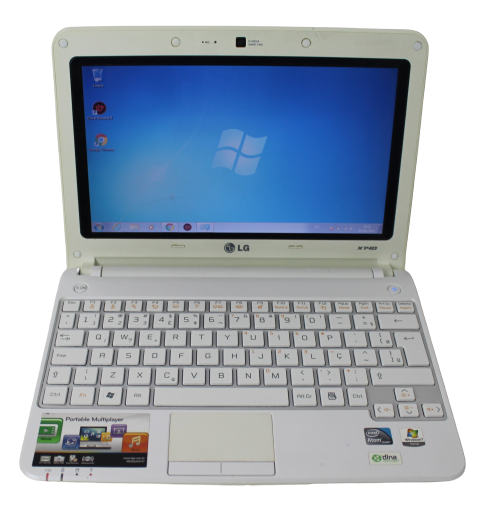 NETBOOK LG X140 INTEL ATOM 1.83GHZ 2GB HD-160GB