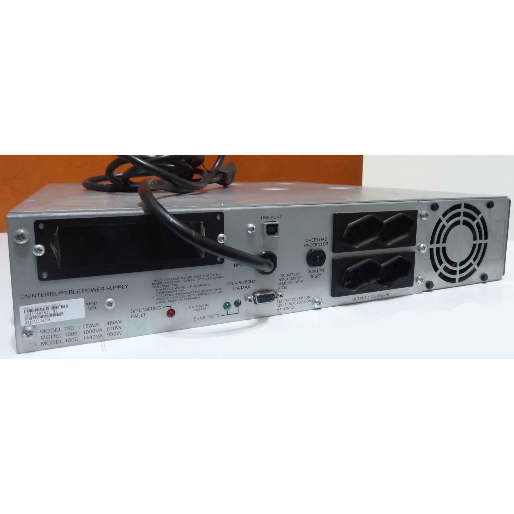 Nobreak Apc Smart-ups 1500va, Rack 2u, 230v