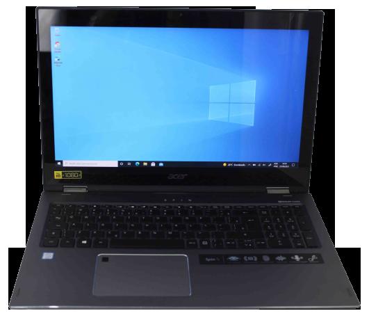 "Notebook 2 em 1 Acer Spin 5 15.6"" Core i5 8GB HD-1TB - Touchscreen + Alphanumérico"