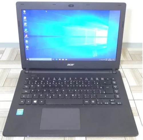 """Notebook Acer Aspire ES1-411 14"""" Intel Cel. 1.83GHz 4GB 500GB HD"""